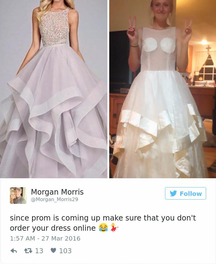 Bomkjøp, kjole