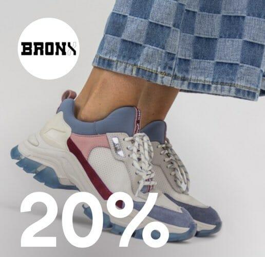 20% rabatt på sneakers. deal image.