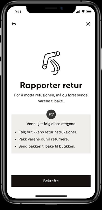 Rapporter retur