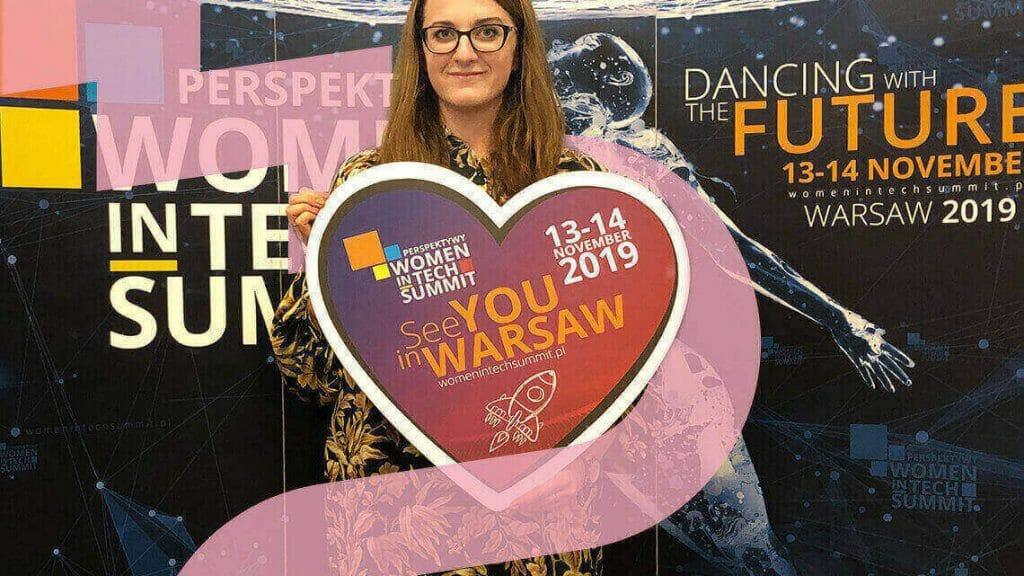 Katarzyna about women in tech