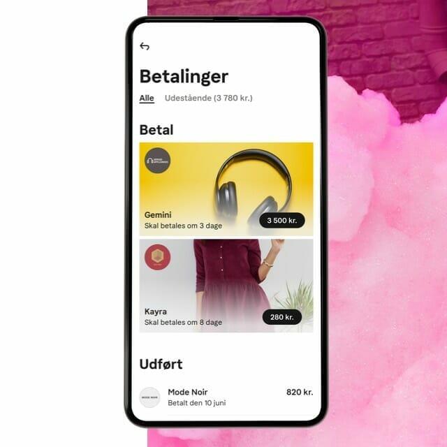 Klarna shopping app protected