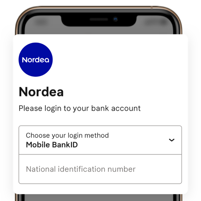 Open banking accessing bank accounts