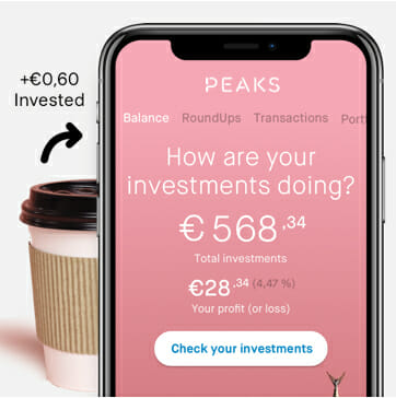 Round up and invest open banking