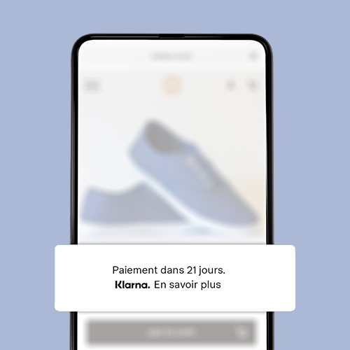 Sur la page produit écran mobile.
