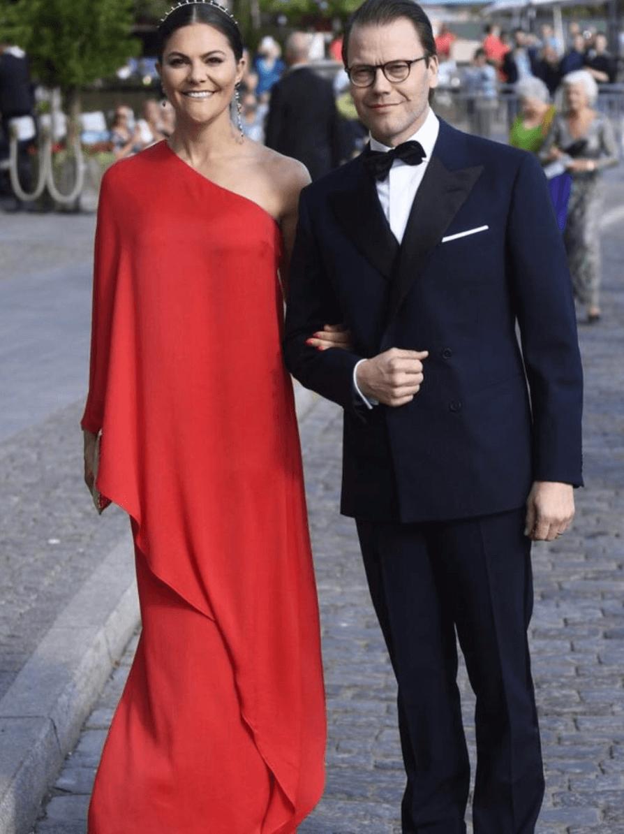 Crown Princess Victoria in Styelin dress
