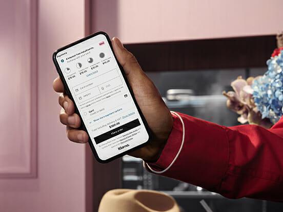 Klarna shopping app, the best way to buy