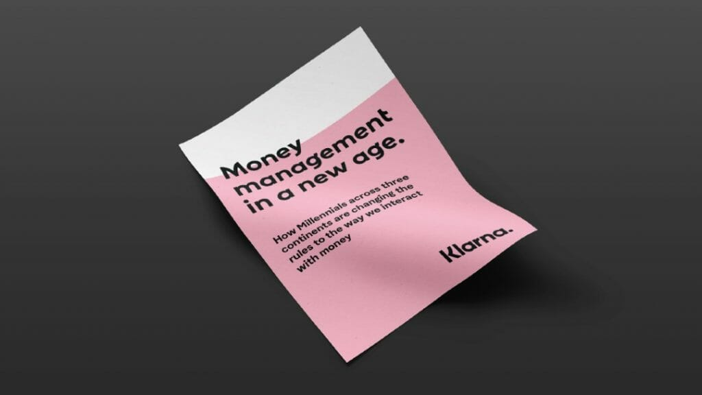 Money management in a new age report front page