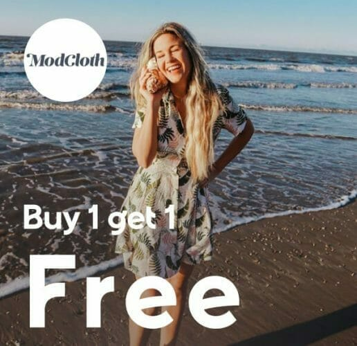 Mod Cloth Buy one get 1 free