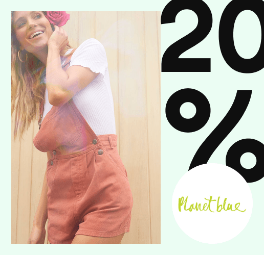 20% off dresses deal image.