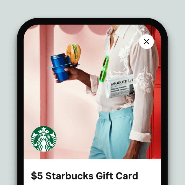 Get rewards mobile screen