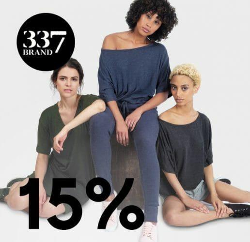 337 15% off