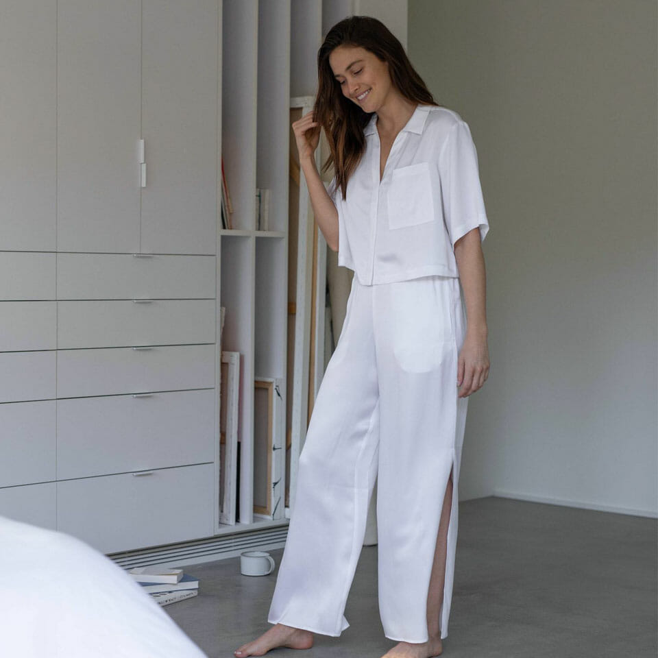 Washable Silk PJ Set