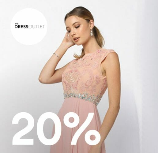 The Dress Outlet 20% off