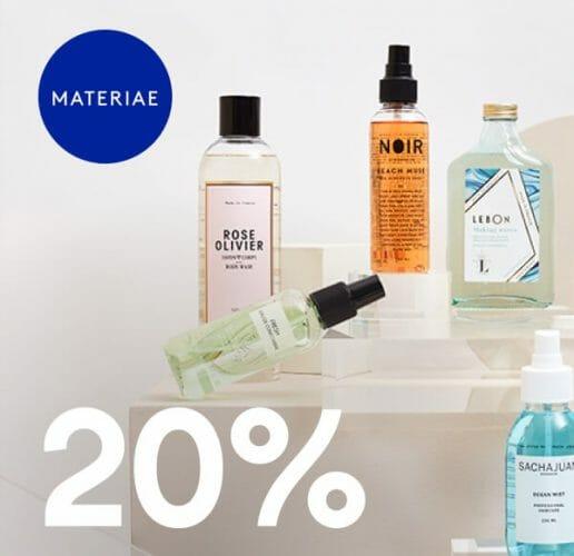 Materiae 20% off