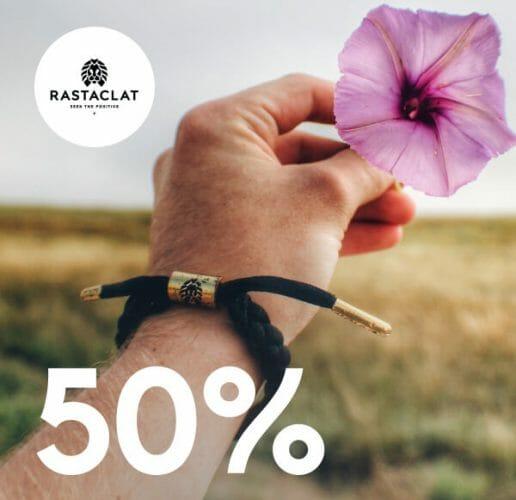 Rastaclat 50% off