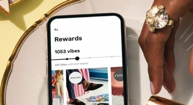 Vibe Rewards Klarna app