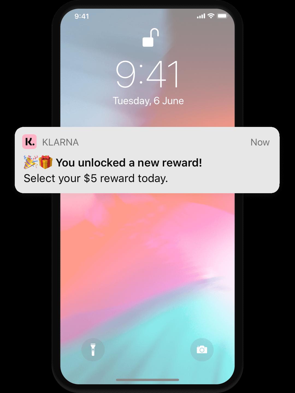 Unlock rewards