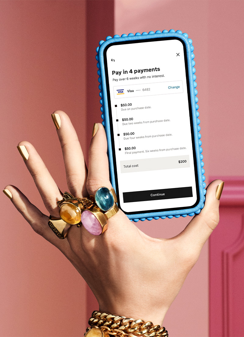Pay in 4 with Klarna