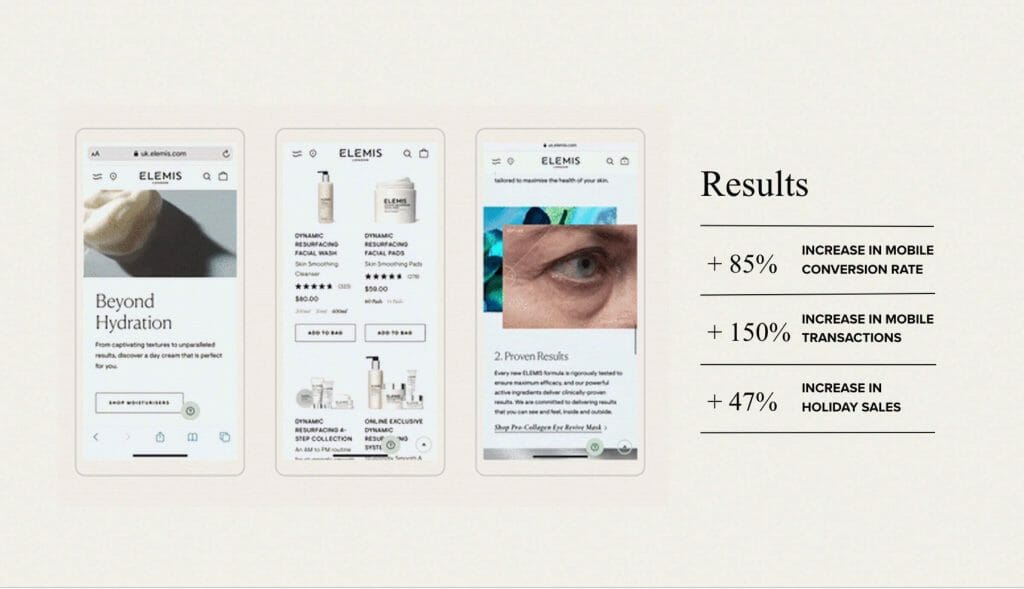 Elemis results