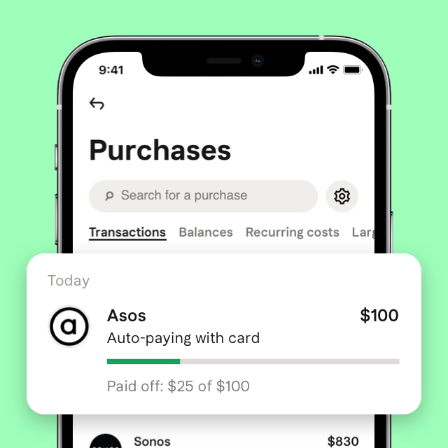 Earn 1 vibe for every $1 you spend with Klarna.