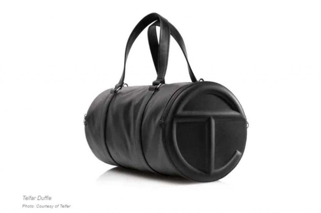 Telfar duffle bag