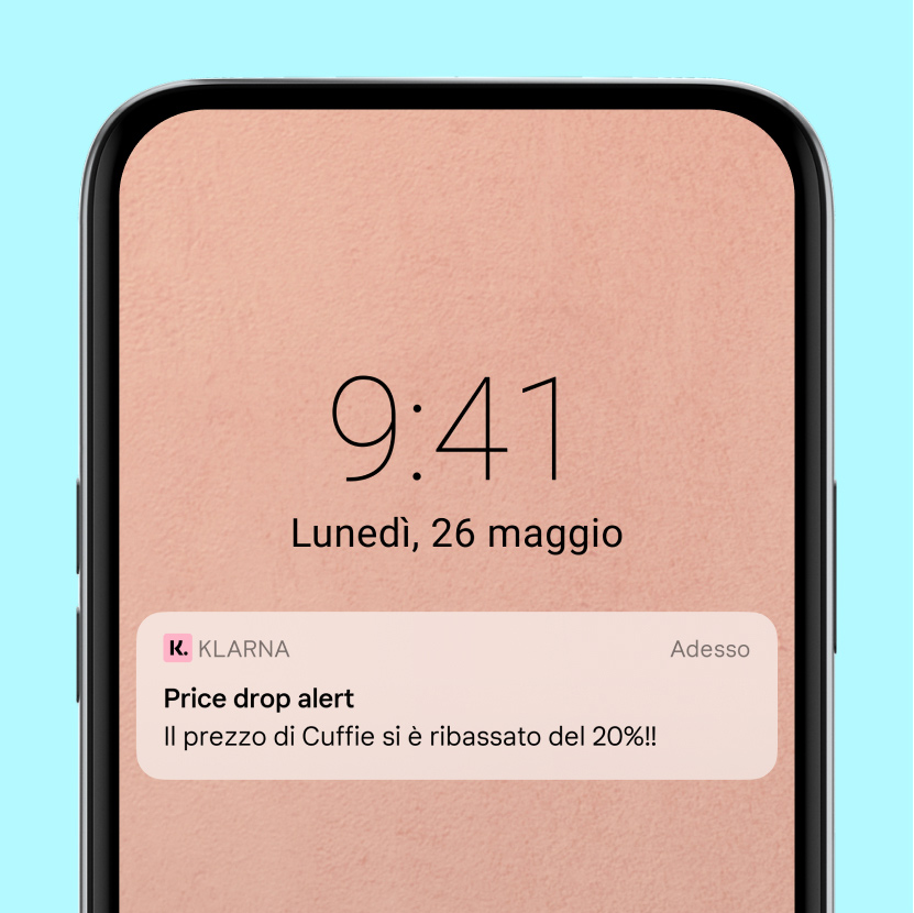 Price drop alert