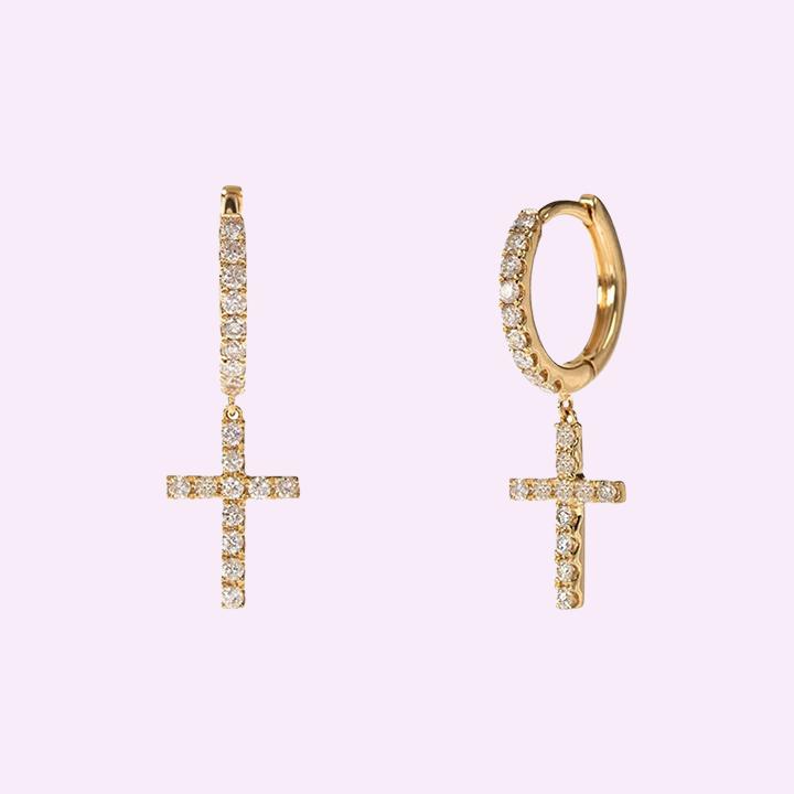 secret-fauna-cross-earrings