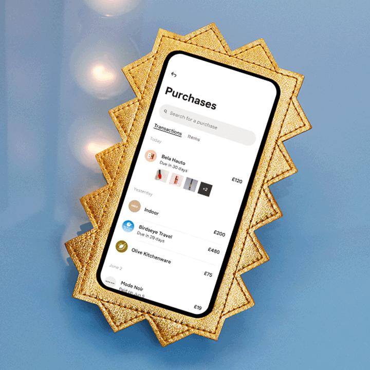 Klarna purchases in app