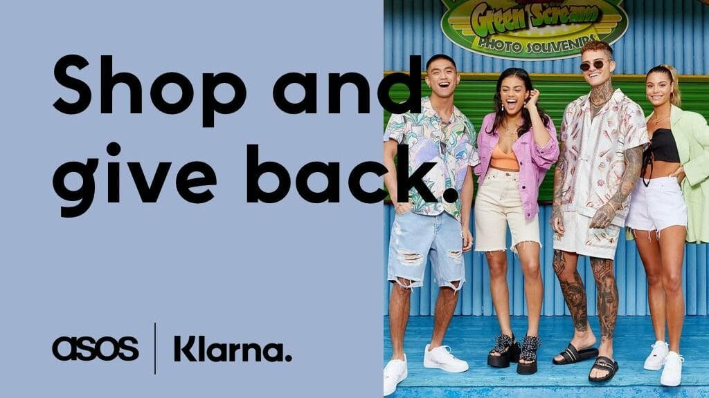 ASOS Klarna Giveback Day
