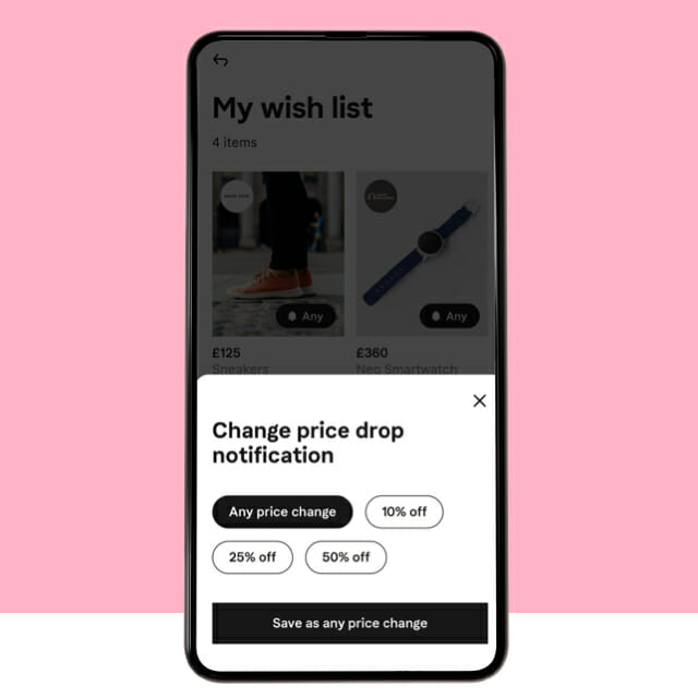 Klarna UK Price drop