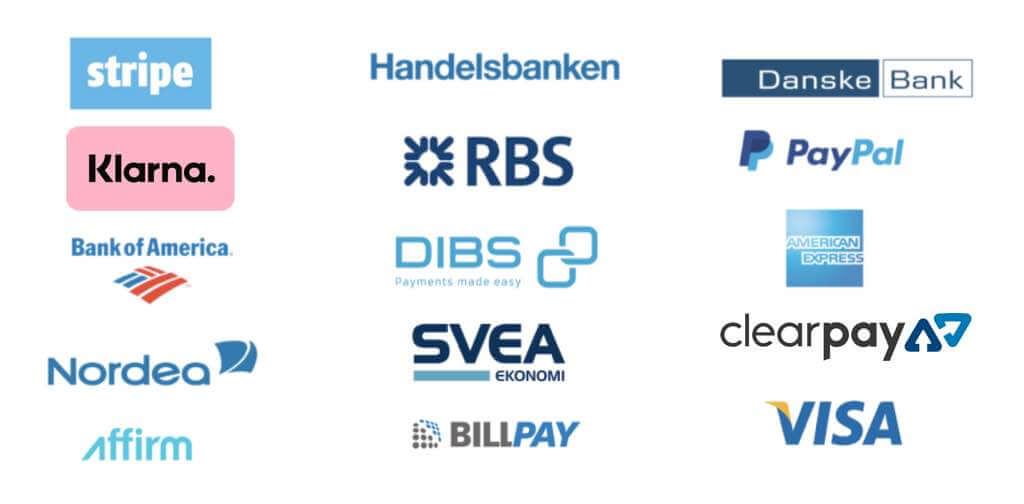 Blue logos for blog