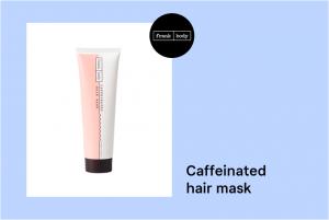 Caffeinated hair mask