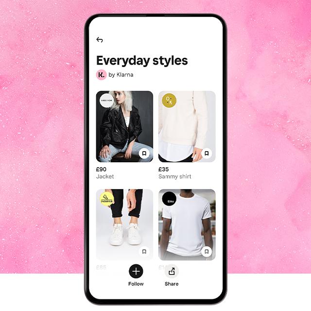 Super App Klarna Everyday Styles