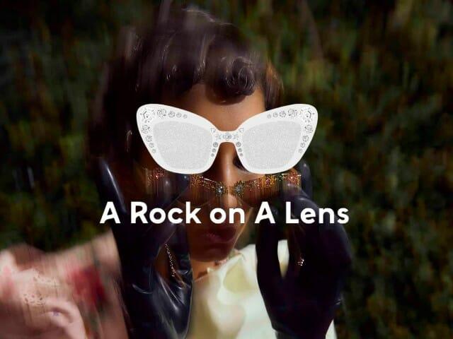 A Rock on a Lens
