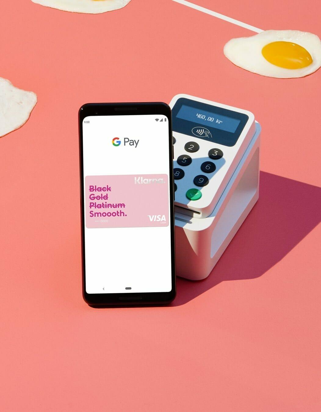 Klarnakortet med Google Pay