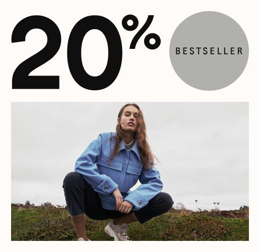 20% på ordinarie pris* deal image.