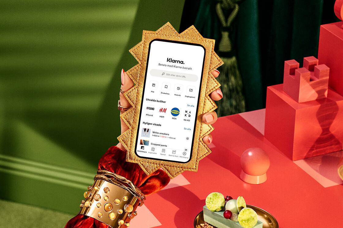 Shoppa med Klarna-appen