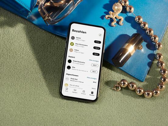 Überblick über alle Zahlungen in der Klarna App