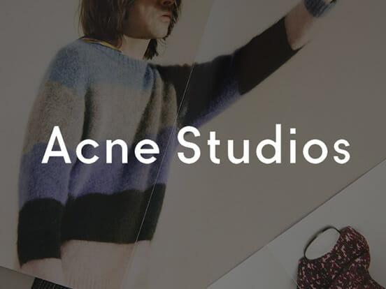 Acne Studios Online Shop
