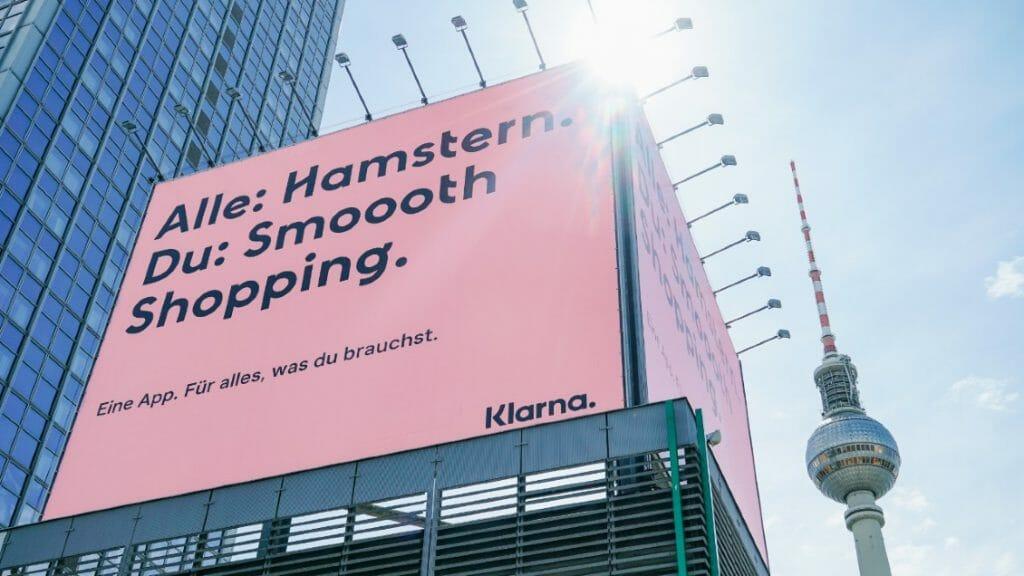 Klarna Werbung in Berlin