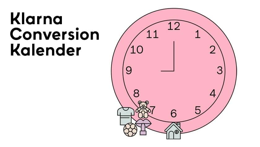 Klarna Conversion Kalendar