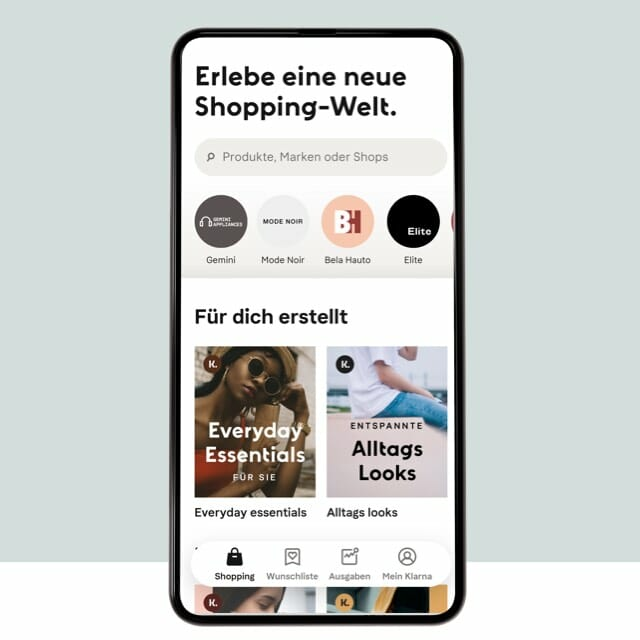 Erlebe Smoooth Shopping