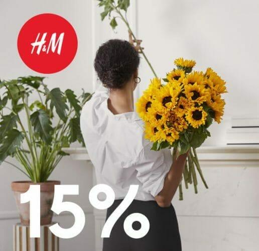 Member Days: 15% Rabatt bei H&M. deal image.