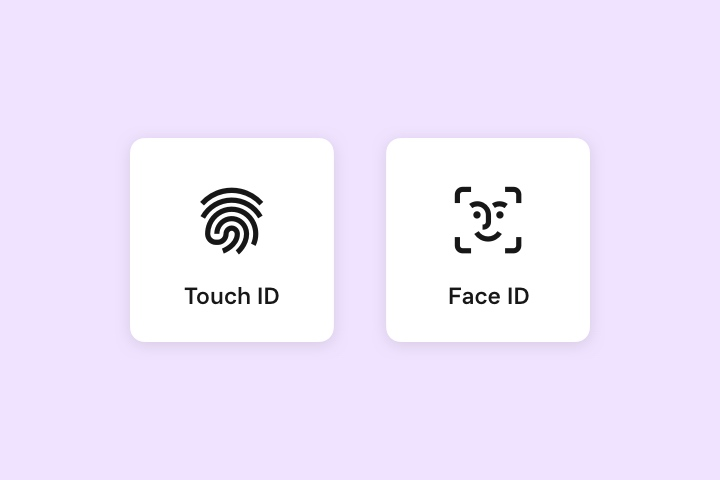 Touch ID, Face ID