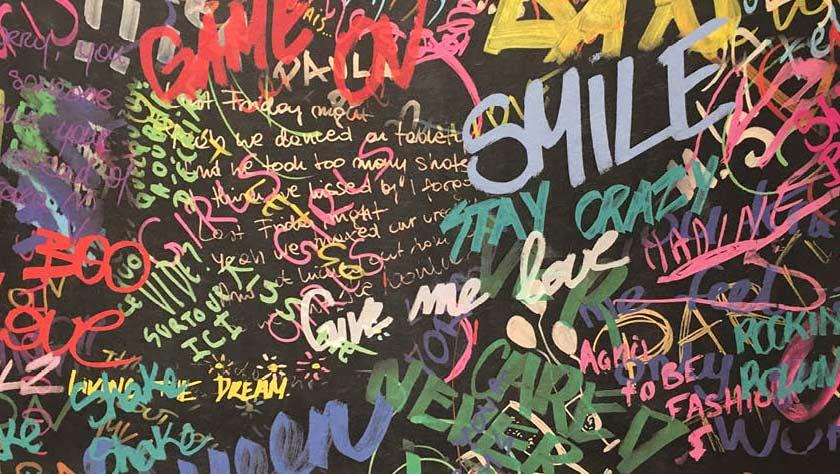 Graffiti afbeelding