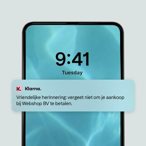 App instant shopping Klarna