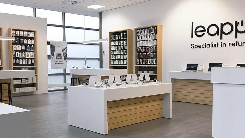 Leapp fysieke winkel afbeelding