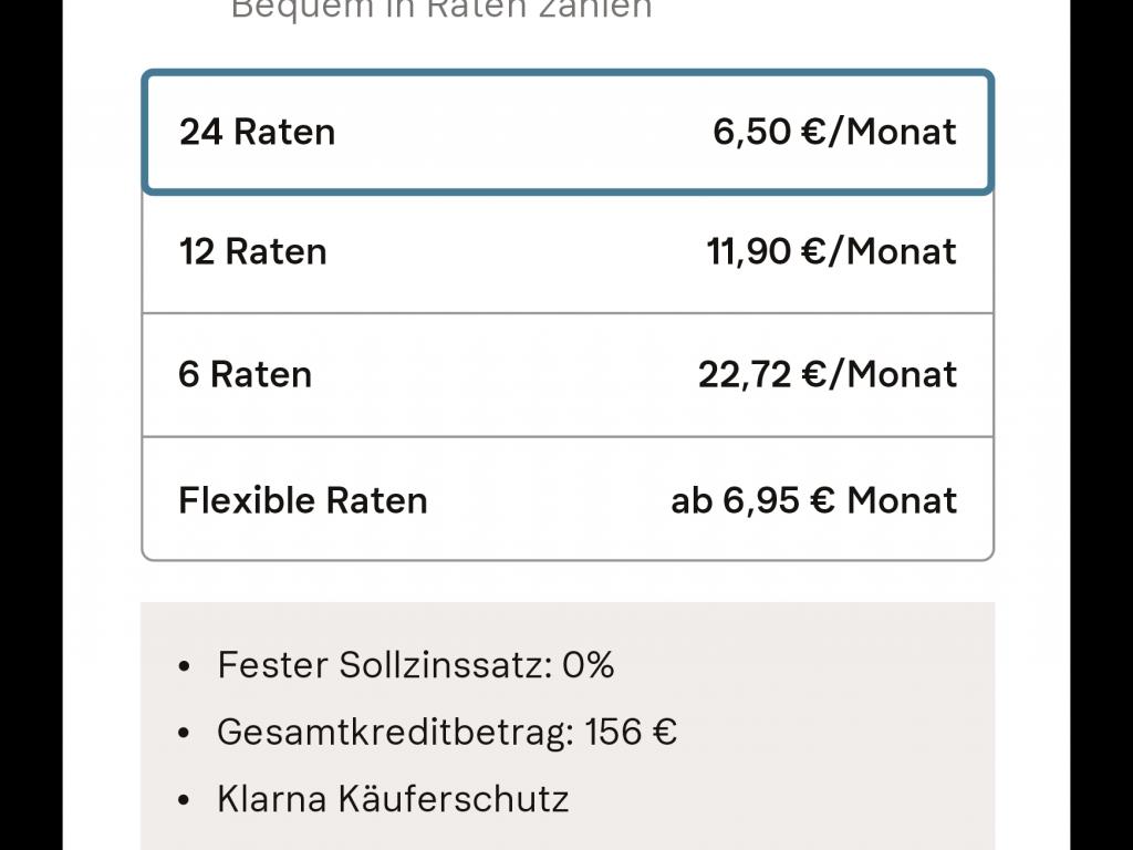 Ratenkauf | Klarna Österreich