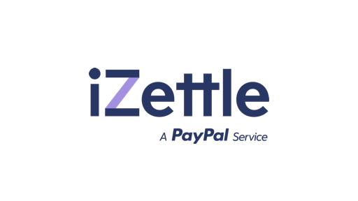 Liila tummansininen iZettle logo