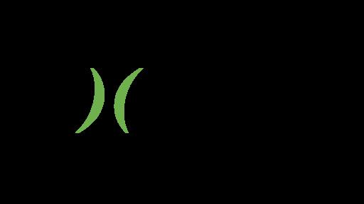 Vihreä musta Liana technologies logo